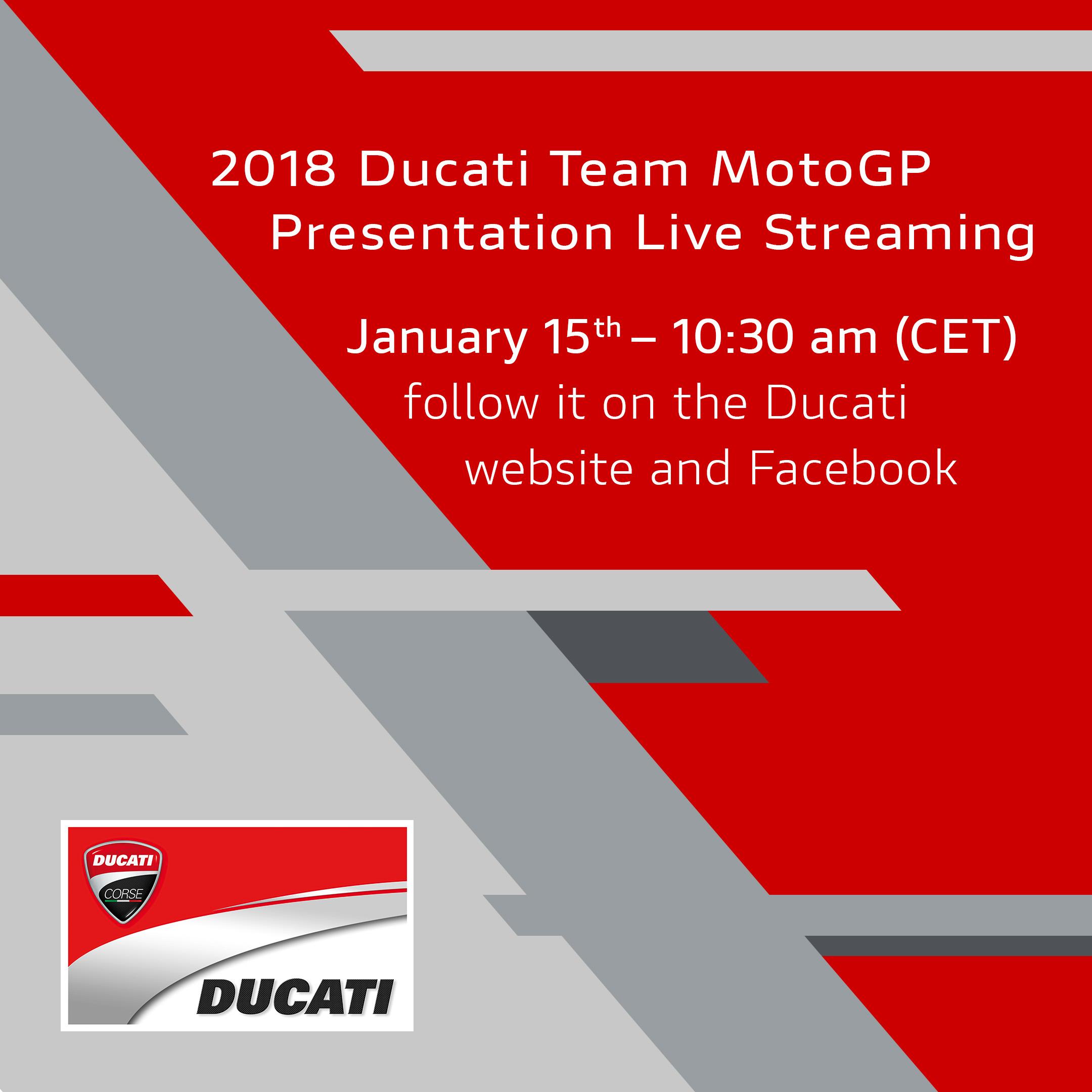 Presentazione Ducati 2018