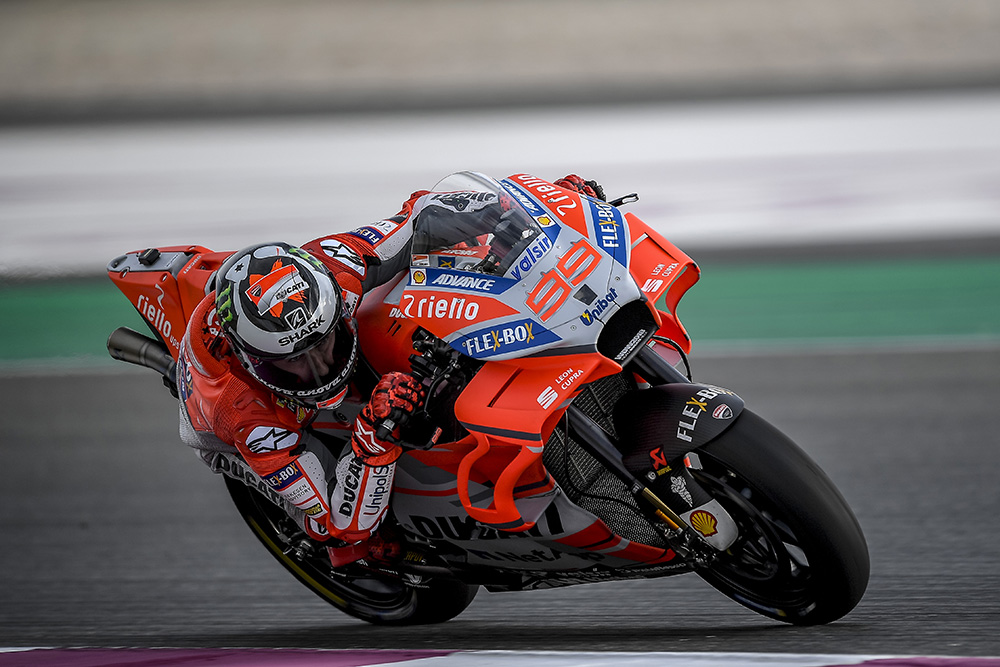 Lorenzo Qatar Test 2018 Day2 A